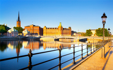 Romantisk weekend i Stockholm